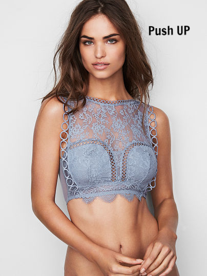 Бралетт хайнек Victoria's Secret  DREAM ANGELS Lace High-neck