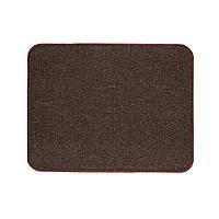 Электрический коврик с подогревом Теплик двусторонний 50 х 40 см Темно-коричневый, фото 1