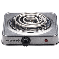 Плита электрична 1 к.; 1000 Вт ViLgrand VHP131_grey