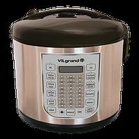 Мультиварка (5 л; 900 Вт; 37 программ; нерж.; LED-дисплей) ViLgrand VMC375