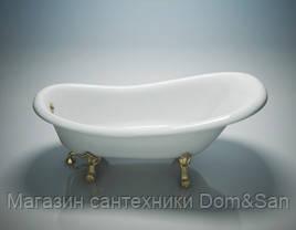 Ванна WGT Antica фурнитура золото 1710х810 мм