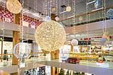 Уличная Гирлянда LED Снежинка 40 см, фото 6