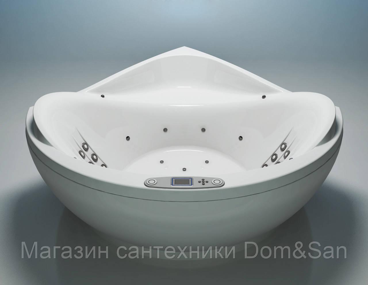 Гидромассажная ванна WGT Illusion 1720х1720 мм комплектация Easy+Hydro