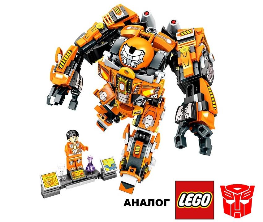 Конструктор JVToy 17001 Служба спасения 507 деталей (Аналог Lego Transformers лего), фото 1