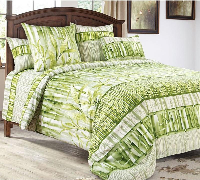 Комплект постельного белья Царский Дом Бамбук (Перкаль) Полуторный