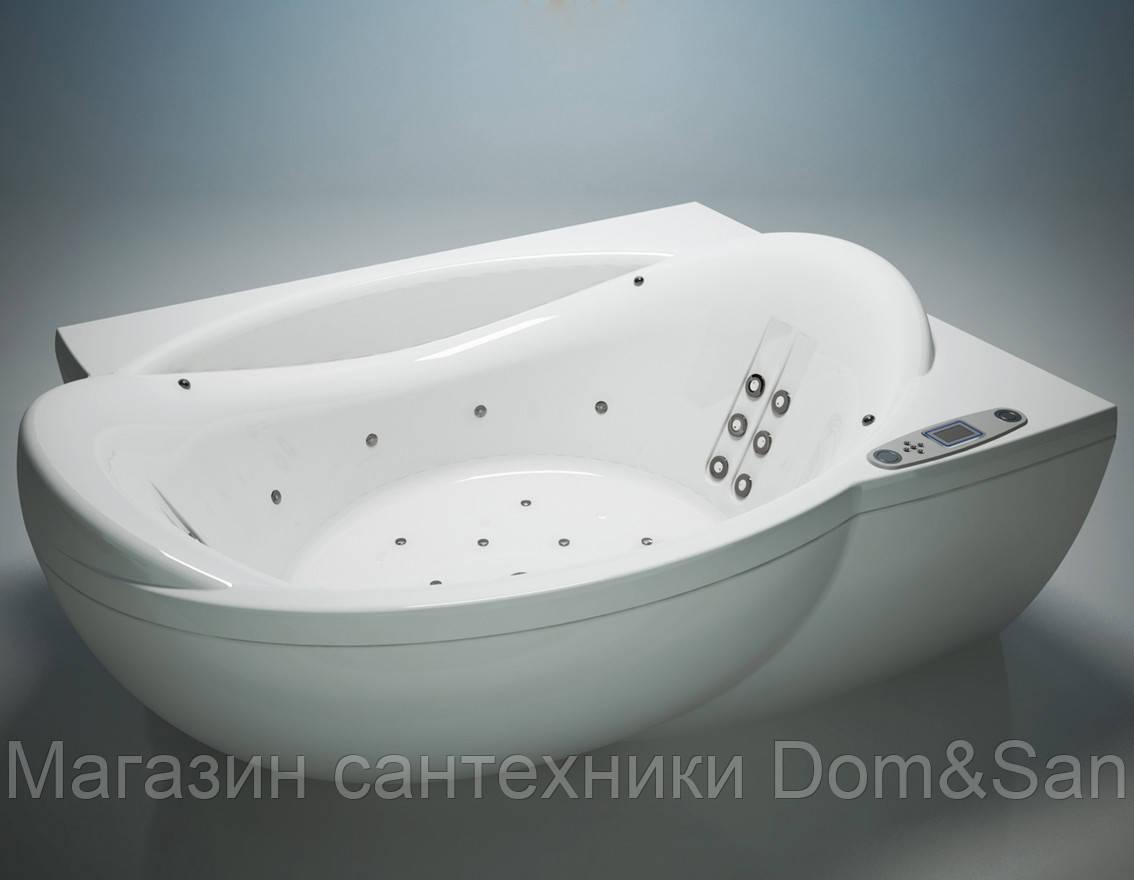 Гидромассажная ванна WGT Water Club 1990x1490 мм комплектация Easy+Hydro правая