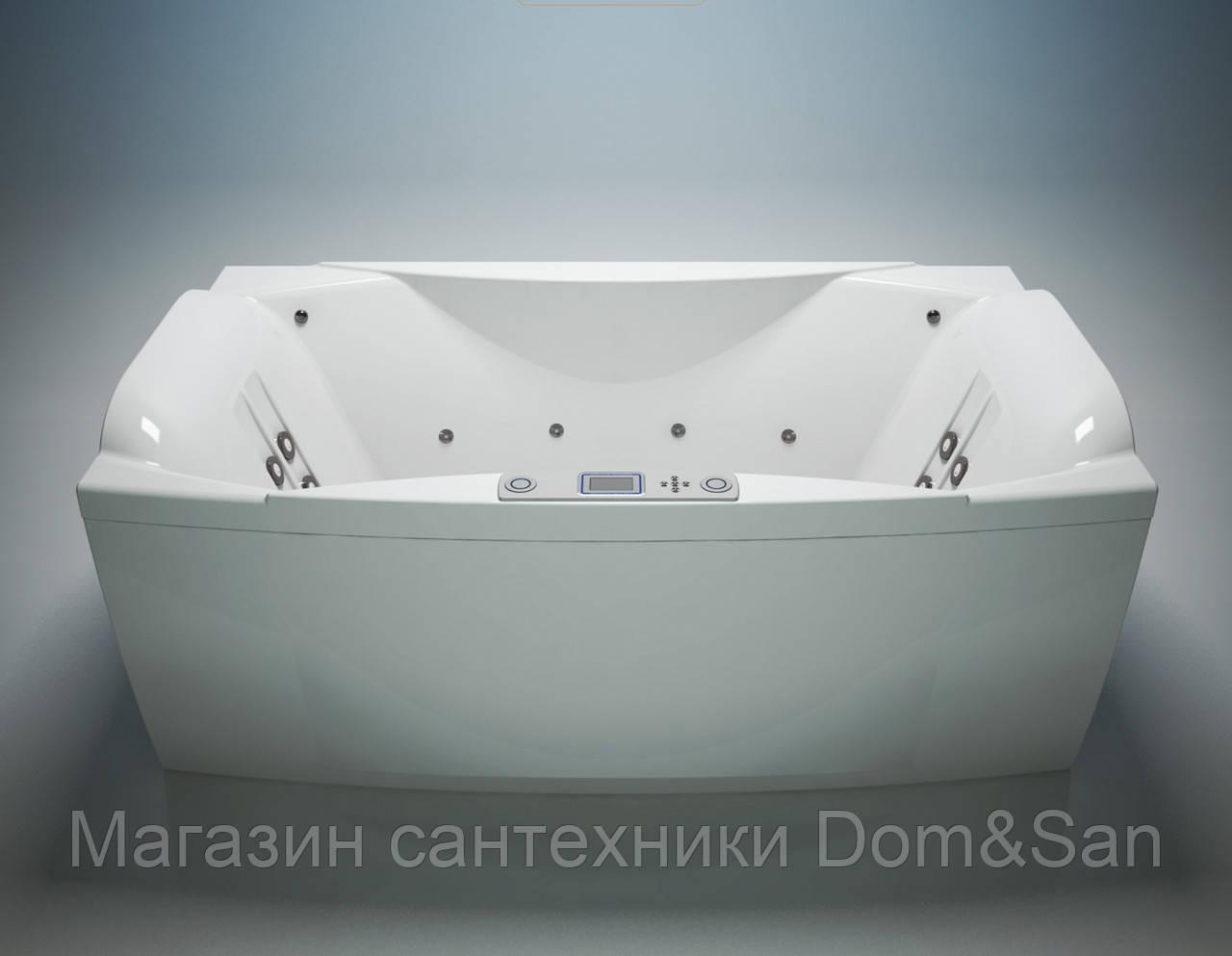 Гидромассажная ванна WGT Feeling Up 1800х1050 мм комплектация Easy+Hydro&Aero