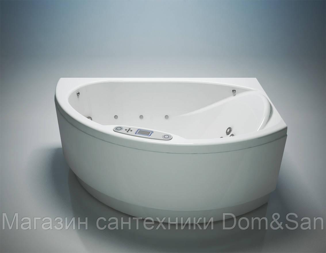 Гидромассажная ванна WGT Nostalgia 1700x1085 мм комплектация Digital правая