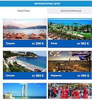 Минимальные цены в Турцию