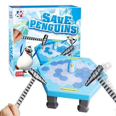 Детская игра Не урони пингвина (Save Penguins)