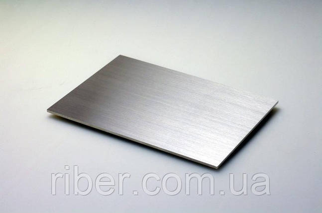 Лист н/ж 6мм - 1х2м, AISI 304 (08Х18Н10), 2В, фото 2