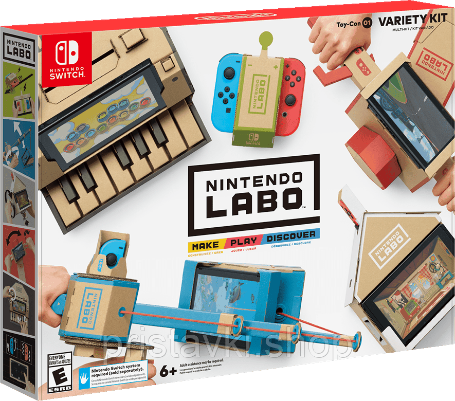 Nintendo LABO Variety Kit Toy Con 01 Nintendo Switch