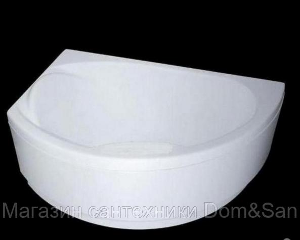 Ванна WGT Nostalgia комплектация Easy (врезной смеситель) 1700x1085 левая