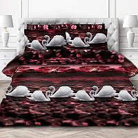 Комплект постельного белья Лебединое озеро 3D (Перкаль) двухспальный