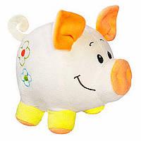 Свинка Бусинка бежевая, 20 см, «FANCY» (SVA0-2)