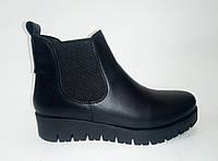Зимние женские кожаные ботинки ТМ Santini, фото 1