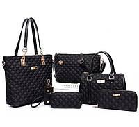 Набір жіночих сумок 6 в 1 Gerarda, фото 1
