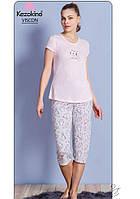 Женская  вискозная пижама Kezokino Размер S/M, фото 1