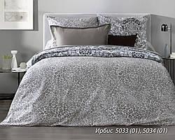 Комплект постельного белья двуспальный ИРБИС ( нав. 70*70)