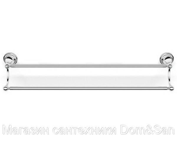 Держатель для полотенец двойной 60 см, настенный Langberger Classic 2122202A