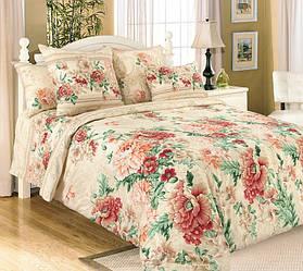 Комплект постельного белья Царский Дом Парадиз (Перкаль) семейный