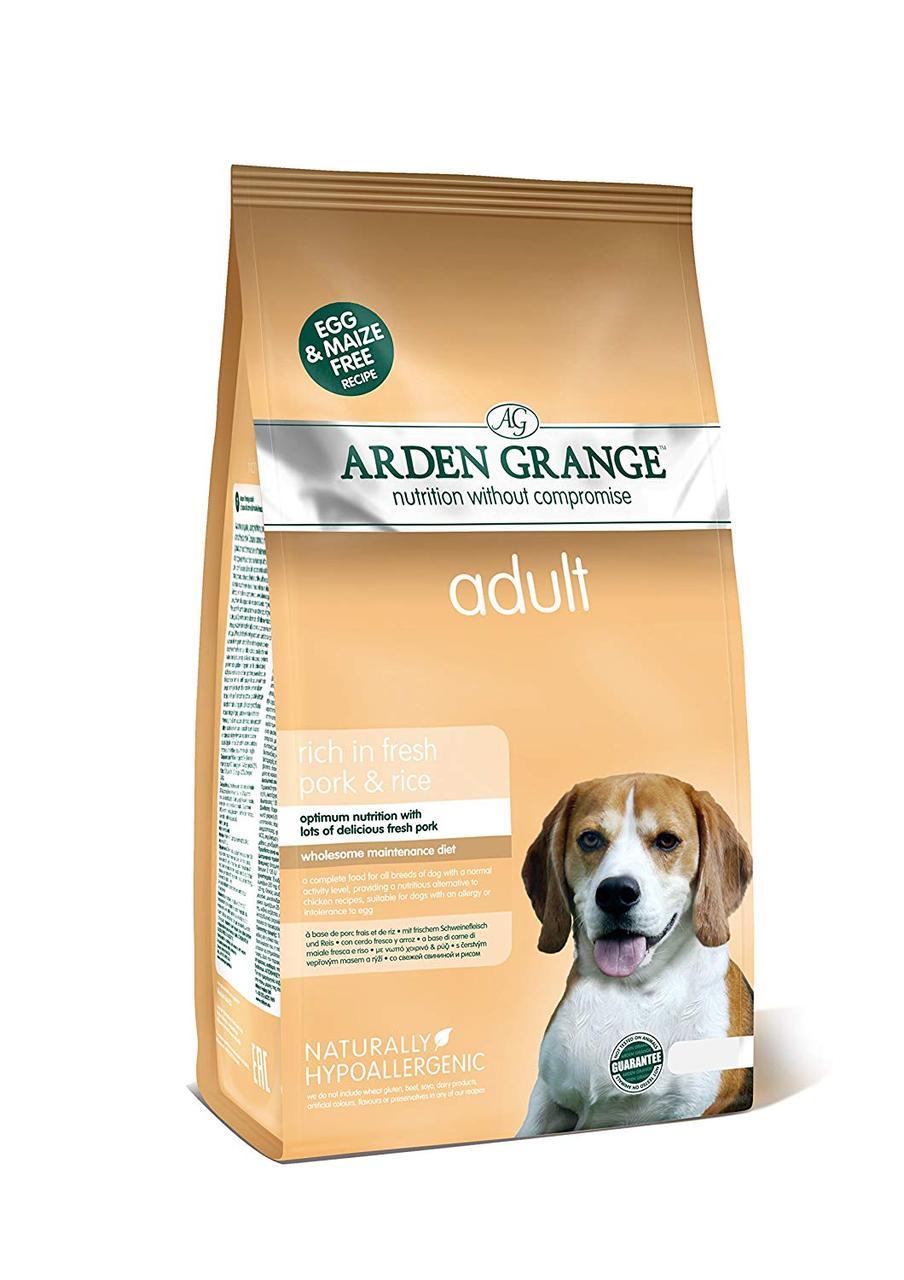 Arden Grange Adult Dog Pork & Rice (Арден Гранж Адалт Дог Порк Рис) - корм зі свининою та рисом для собак 2 кг