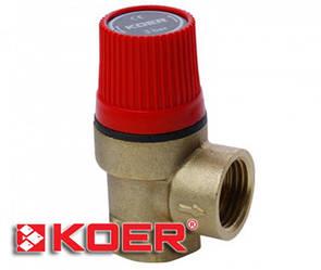 Предохранительный клапан Koer 1,5 bar KR.1260