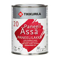 Лак Tikkurila Панели-Ясся, полуматовый 0,9л