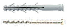 Дюбель анкер APS с шурупом 8х80мм (шестигранная голова)