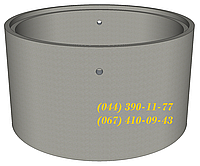 КС 10.3-П - кольцо канализационное для колодца, септика. Железобетонное кольцо колодезное.