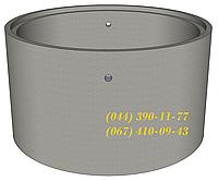 КС 10.9ПН-С - кольцо канализационное для колодца, септика. Железобетонное кольцо колодезное.