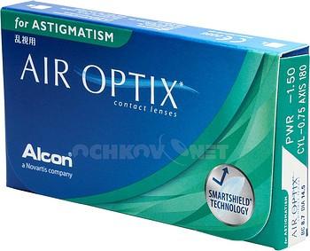 Контактная линза Air optix for Astigmatism