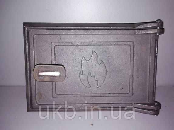 """Дверца поддувальная чугунная 235*160 мм """"ОГОНЕК"""", фото 2"""