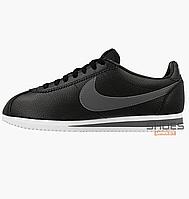 b8908731 Мужские кроссовки Nike Classic Cortez Leather Dark Grey 749571-011, оригинал