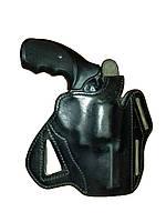Универсальная (поясная/оперативная) кобура PWL для револьвера, кожа. Великобритания, оригинал.