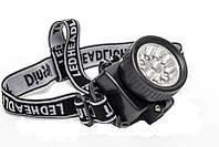 Налобный светодиодный фонарь DQ-539-14C