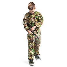 Детский военный костюм для мальчиков Киборг камуфляж Мультикам оригинал, фото 2