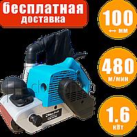 Ленточная шлифовальная машина Riber ЛШМ 100/1650, шлифмашина ленточная по дереву, 100 мм