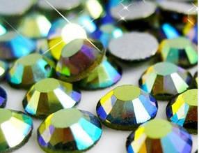 Стразы Swarovski ss 3 Emerald 100 шт