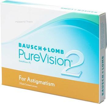 Контактная линза Pure Vision 2 Toric