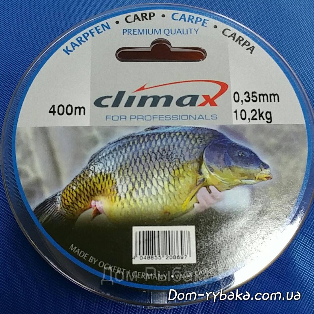 Леска Climax Speci-Fish CARP 0.35мм 10,2 kг 400м(11802)