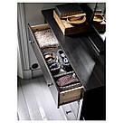 ХЕМНЭС Комод с 3 ящиками, черно-коричневый, 402.426.29, фото 5