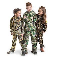 Военный детский костюм теплый Вулкан Soft-Shell камуфляж MTP, фото 2