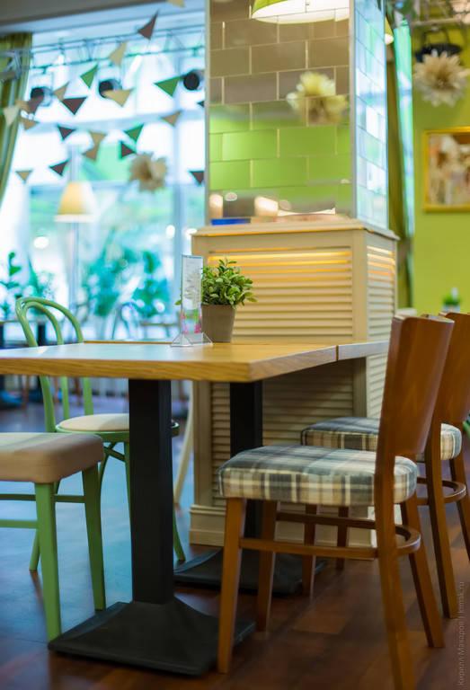 Так как в кафе и ресторанах нужно учитывать при выборе обивочной ткани износостойкость - ткань Шенил как раз то, что нужно.