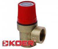 Предохранительный клапан Koer 6 bar KR.1260