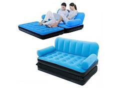 Надувной диван-трансформер Intex (Голубой)