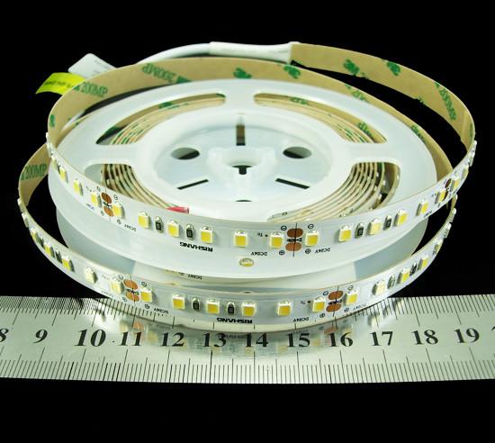 Світлодіодна стрічка 26.2 Вт 24вольт тепло біла RZ00C0TC-A 2835-120-IP33-WW-10-24 CRI80 Рішанг 7999
