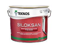 Фасадная силиконовая краска TEKNOS SILOKSAN 2,7 л