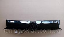 Зимняя накладка на решетку радиатора Фольксваген Транспортер Т6 (заглушка решетки Volkswagen Transporter T6)