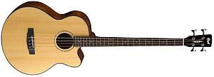 Акустична бас-гітара CORT AB850F (NAT) w/bag - 4 струни
